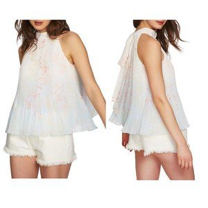 1.State Pleated Top